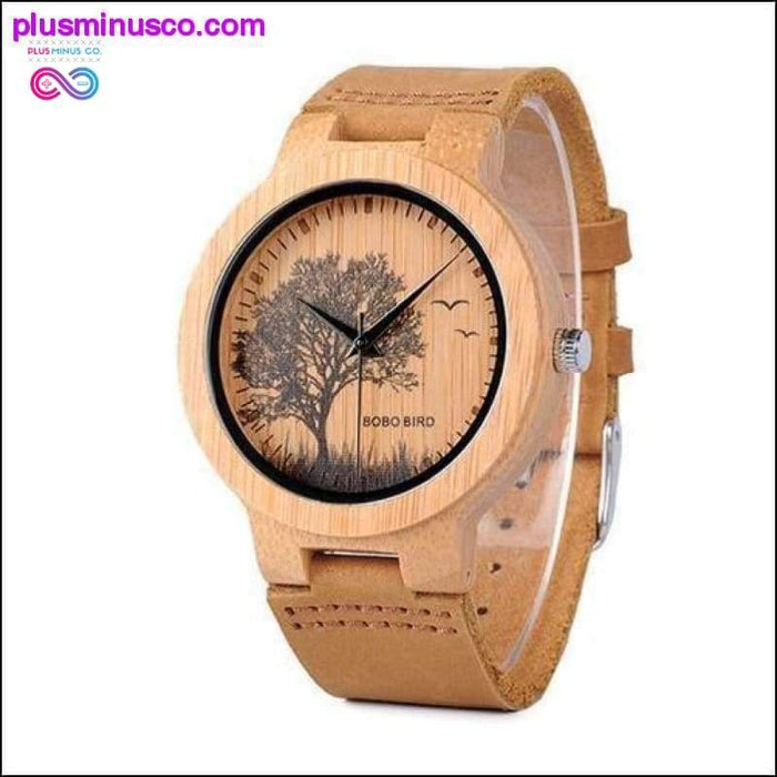 Classic Manmade Best Wooden Watches For Men with Lifelike - Plus Minus Co.