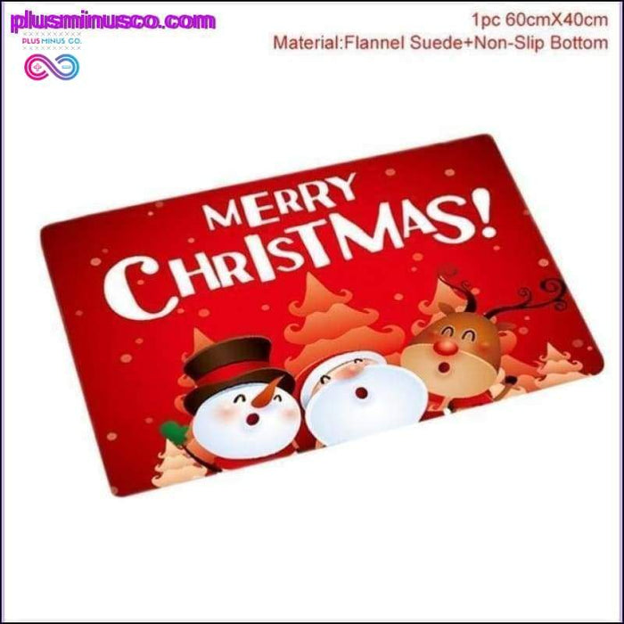 Christmas Decorations for your Bathroom Curtains, Mat and - Plus Minus Co.