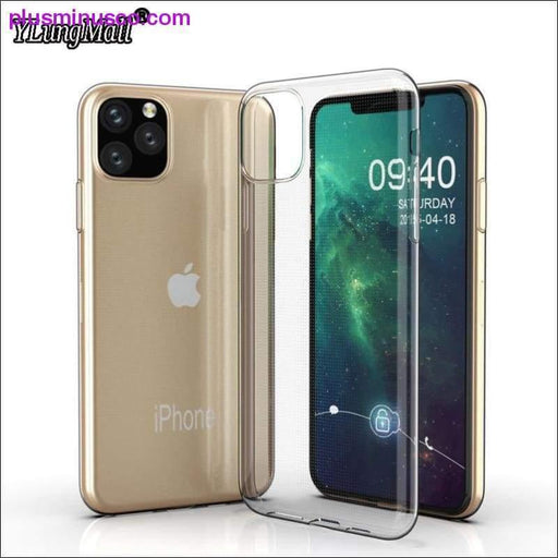 Clear Case For Funda iPhone 11 2019 on iPhone 11 Pro Max Transparent TPU Soft Case For Apple iPhone - Plus Minus Co.