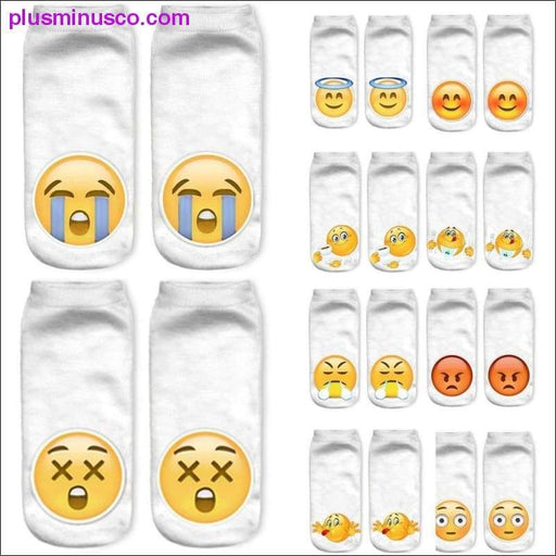 Emoji Söckchen - Plus Minus Co.