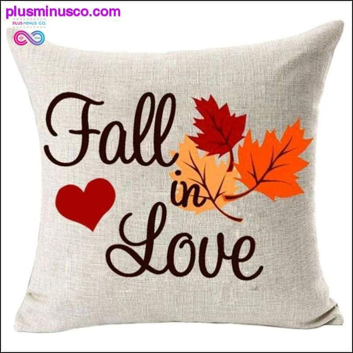 Fall in Love Cotton Linen 45 * 45cm Pillow Covers 1Wedding - Plus Minus Co.