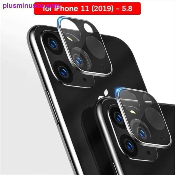 Luxury Camera Lens Protector for iPhone 11 Pro Max Tempered Glass Camera Film For Apple iPhone 11 - Plus Minus Co.