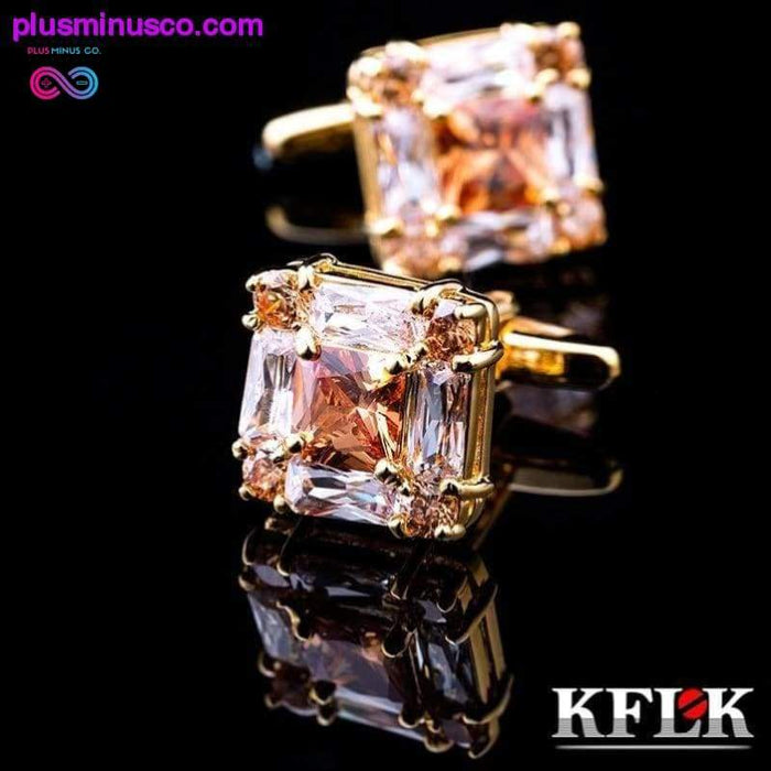 jewelry for men's brand of high quality square gold - Plus Minus Co.
