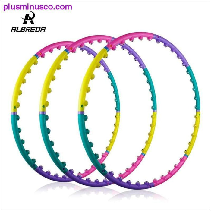 Magnetic hula hoop for children/ women - Plus Minus Co.