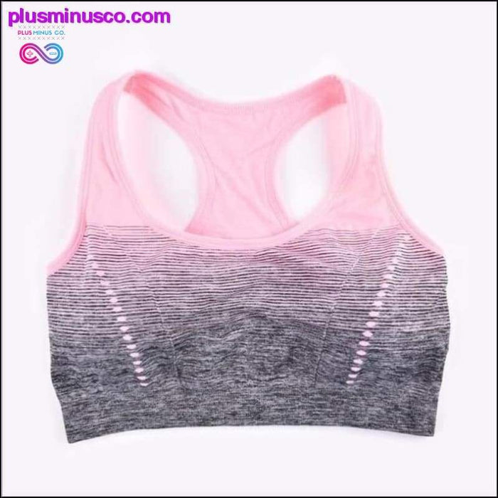 Sports yoga High Stretch Breathable Bra Top Fitness Women - Plus Minus Co.