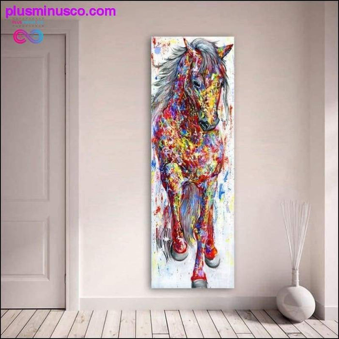 QKART Wall Art Painting Canvas Print Animal Picture Animal - Plus Minus Co.