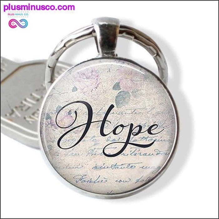 She Believed She Could So She Did Car keychain Inspirational - Plus Minus Co.
