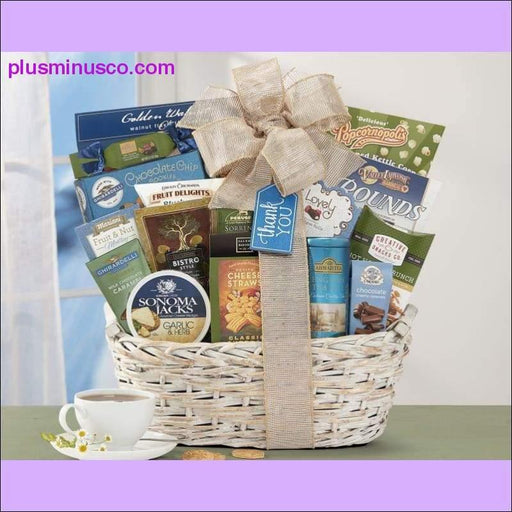 Many Thanks by Wine Country Gift Baskets - Plus Minus Co.
