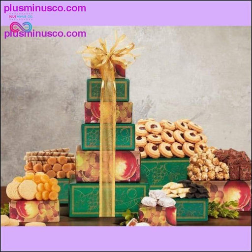 Tower of Sweets de Wine Country Gift Baskets - Plus Minus Co.