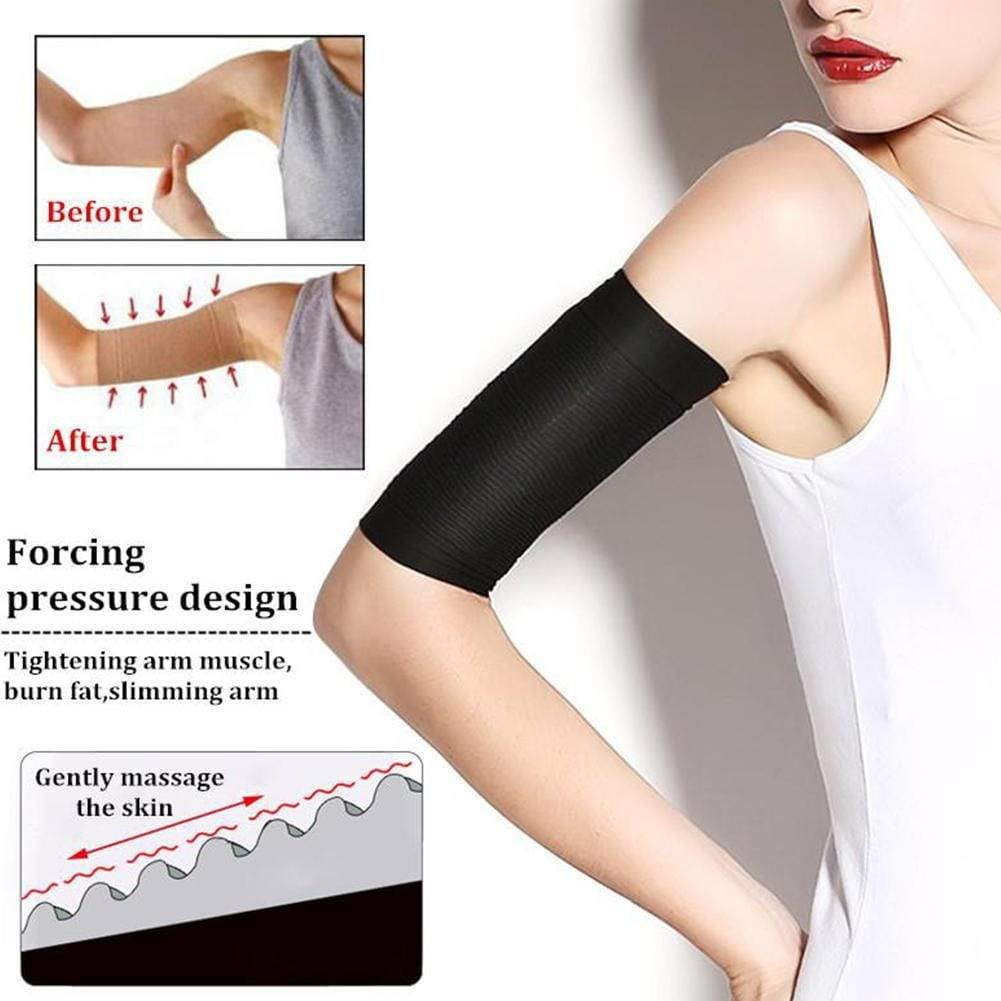 2Pcs Weight Loss Calories off Slim Slimming Arm Shaper Massager Sleeve