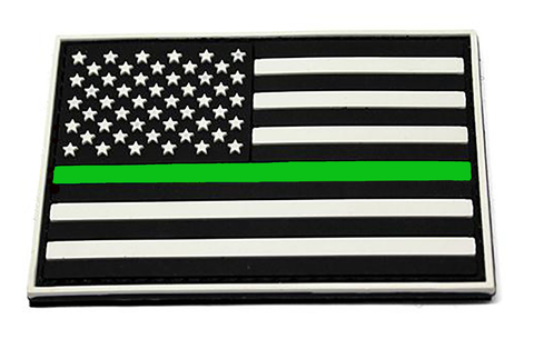 Thin Green Line Morale Patch