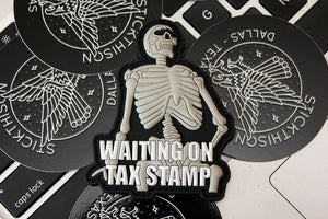 Tax Stamp Morale Patch