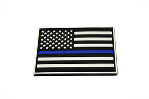 Thin Blue Line PVC Morale Patch
