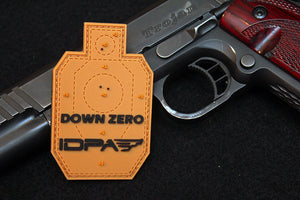 IDPA Down Zero Morale Patch
