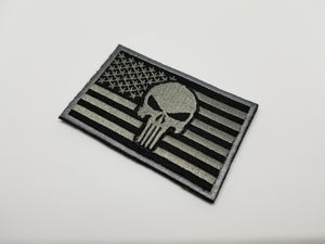 6 American Flag Morale Patch Bundle (Embroidered)