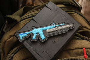 AR15 Chainsaw Bayonet Morale Patch