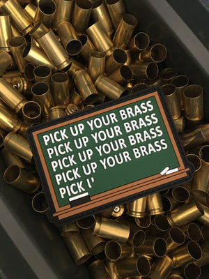 Pick Up Your Brass Morale Patch