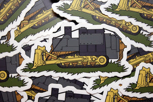 Killdozer Stickers