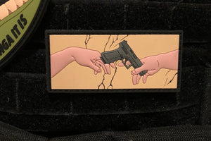 God Adam & Glock Morale Patch
