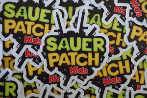 Sauer Patch Kids Stickers