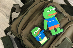 Sad Pepe Morale Patch