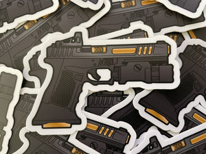 Zev ZRO Delta Stickers