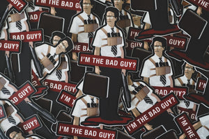 Falling Down Stickers