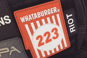 Whataburger 223 Morale Patch