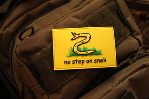 No Step On Snek Morale Patch (PVC)