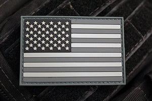 American Flag SWAT Morale Patch (PVC)