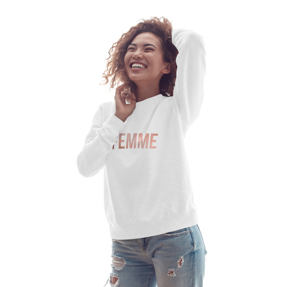 The Femme Sweatshirt  | $20 to The Shoebox Project | Limited Edition