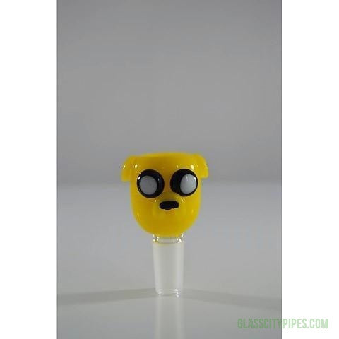 Jake-Adventure-Time-14mm-18mm-Male-Glass-Bowl-Bong