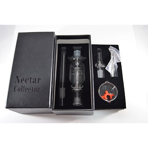 14mm Honey Tip Nectar Collector with Titanium & Glass Mouthpiece