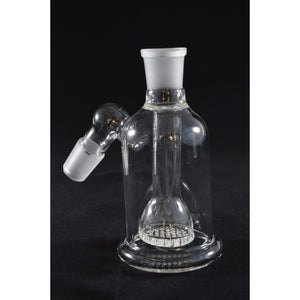 18mm Ashcatcher With Clear Honeycomb Disk Perc