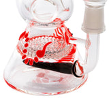 Grace Glass | Red Scorpion Glow in the Dark Bong