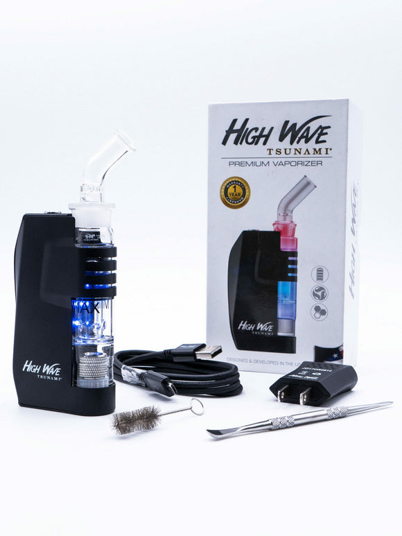 Tsunami High Wave Wax Vaporizer Kit - Black