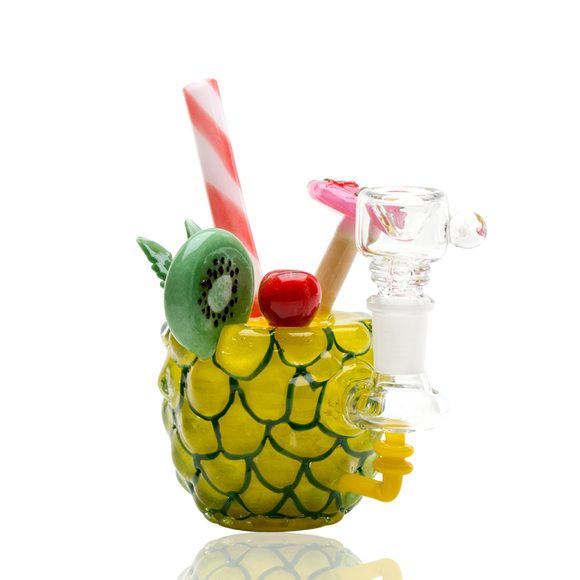 Empire Glassworks 5.5 inch Pineapple Paradise Glass Water Bong