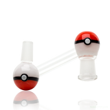 Empire-Glassworks-Worked-Pokeball-Dropdown-14mm-Female-To-14mm-Male-Adapter