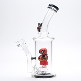 Empire Glassworks Deadpool Themed Heady Glass Bong