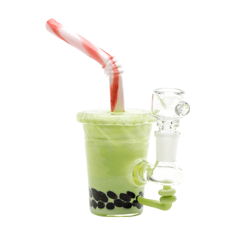 "Empire Glassworks Worked ""Fruity Boba"" Heady Glass Bong"