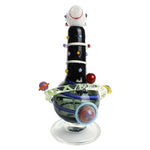 Empire Glassworks Worked Rocket Ship Heady Glass Bong