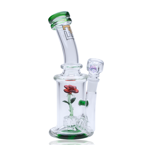 Empire Glassworks Glass Rose Water Pipe Bong