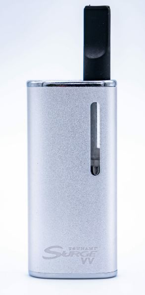 Tsunami Surge Variable Voltage Oil Vaporizer - Silver