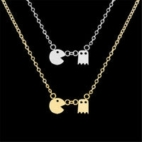 Pac Man Necklace - Petite Collection