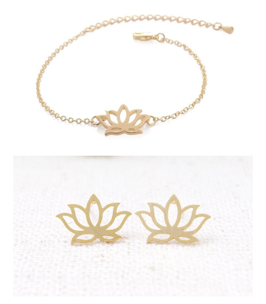 Lotus Set of Two