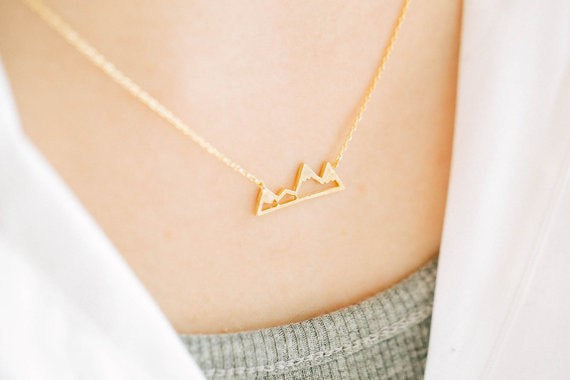 Mountain Skyline Necklace