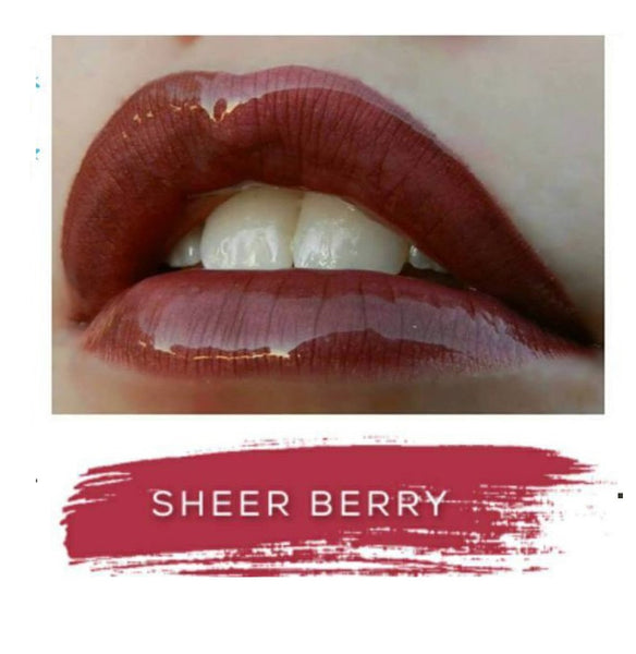 Sheer Berry LipSense- Berry Purple - Cool Tone (blue based)