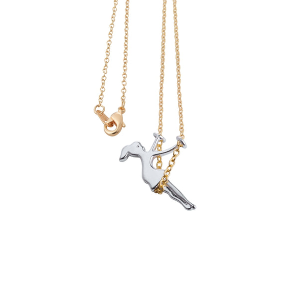 Swinging Girl Necklace - Petite Collection