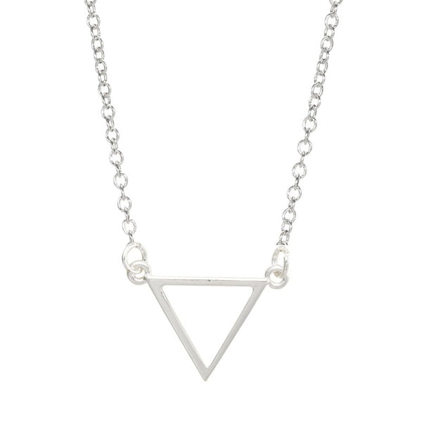 Triangle Necklace - Petite Collection