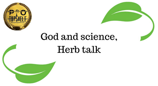 God and science, Herb talk